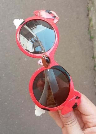 Стильные качественные актуальные необычные очки для детей антиблик polarized