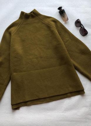 🌿стильный свитер zara в свободном стиле