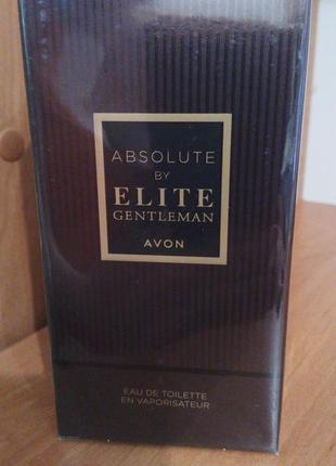 Продам мужской avon absolute by elite gentleman 50 мл-230 грн