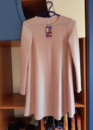 Новое платье блеск