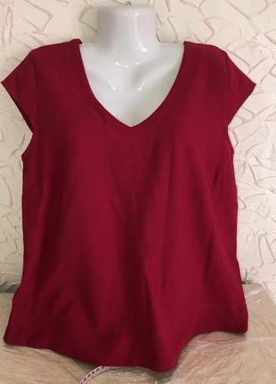 Блуза малинова,нова.
