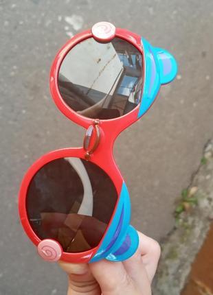 Стильные качественные необычные крутые круглые очки поляризация
