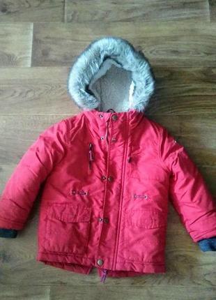 Куртка-парка холодная осень-весна