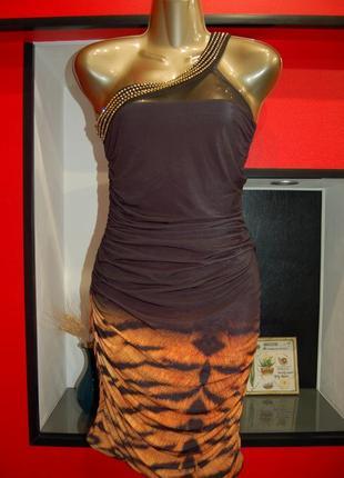 Продам фирменное короткое платье на одно плечо, новое ❗️❗️❗️