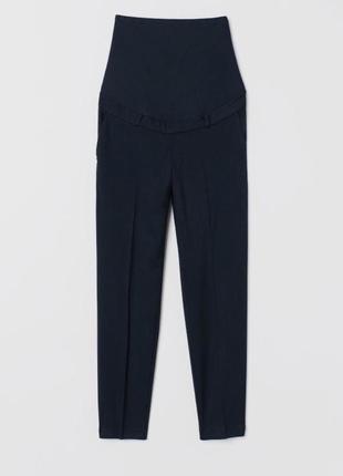Класичні штани брюки h&m для вагітних зручна вставка для животика р.l