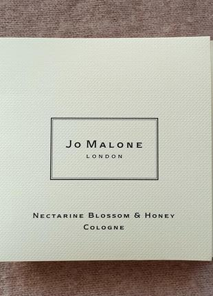 Пробник нишевого аромата jo malone - nectarine blossom and honey