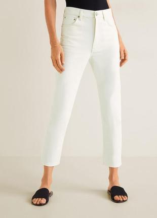 Mango джинсы белые