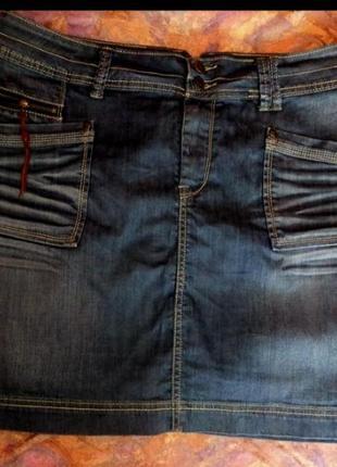 Срочно!! джинсая юбка большого размера
