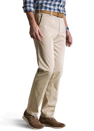 Легкие брюки regular fit straight  от vestbury