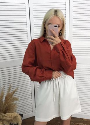 Сорочка з чистого льону розкішної якості!