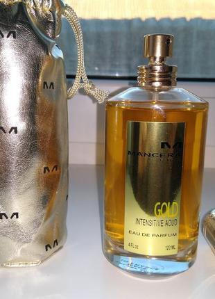 Парфюмированная вода унисекс mancera gold intensitive aoud 120 мл