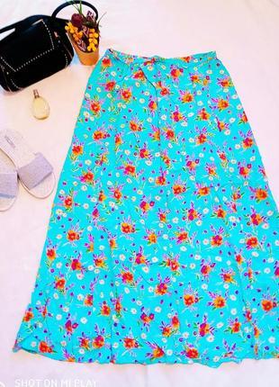 Стильная классная лёгкая юбка