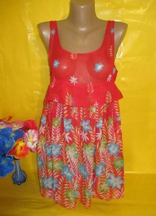 Очень красивое женское платье пляжный вариант грудь 43 см !!!!!!!
