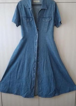 Джинсовое платье. всегда актуально!