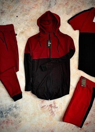 Asos комплект из четырёх  едениц одежды, спортивный костюм, летний костюм