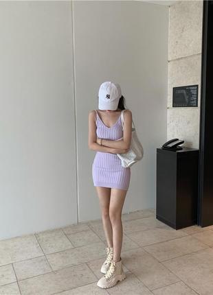 Платье  лавандового цвета,  скидка - 10 %, успей заказать