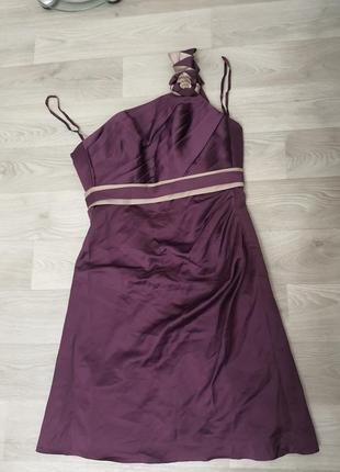 Нарядное фирменное платье  allure bridals bridemaids
