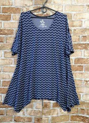 Трикотажная блуза туника