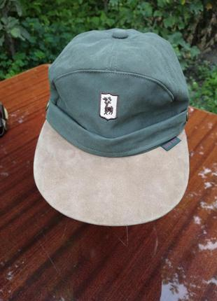 Кепка deerhunter с вентиляцией и защитой от дождя deer tex. германия. р - 58.