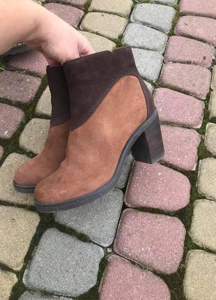 Осінні черевики / ботинки на каблуку 36 розміру