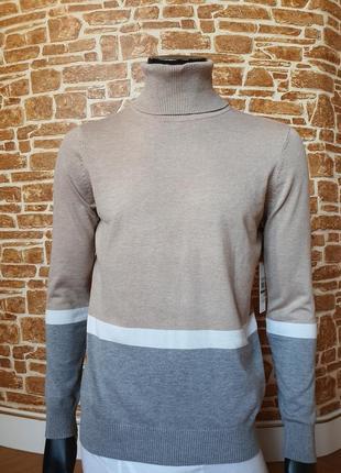 Кофта свитер гольф оригинал calvin klein  р. l