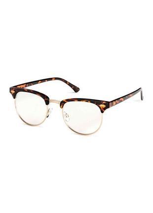 🎈 имиджевые очки h&m в роговой оправе