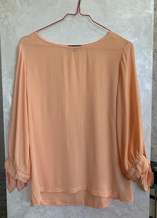 Блуза футболка бренда massimo dutti. размер s.
