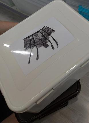 Контейнер для хранения белья винтаж
