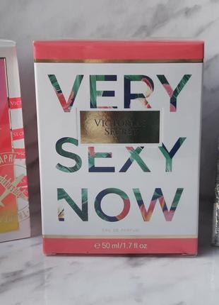 Парфюмированная вода very sexy now 2017 от victoria's secret 50 ml