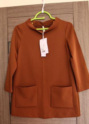 Блуза, туника imperial  xs люксовый бренд с биркрй, супер цена✅✅✅✅
