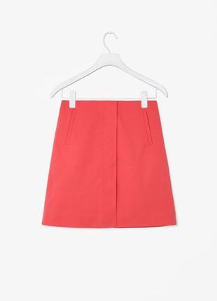 Cos: юбка из плотного хлопка