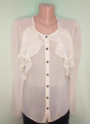 Оригінальна шифонова блуза