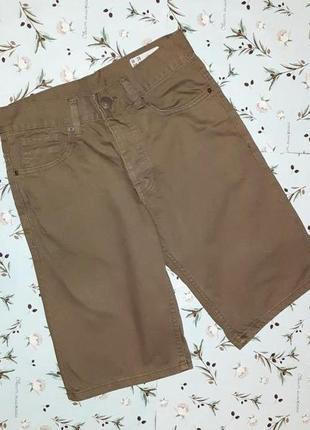🎁1+1=3 крутые фирменные джинсовые узкие шорты denim co, размер 42 - 44