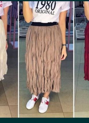 Новая юбка миди