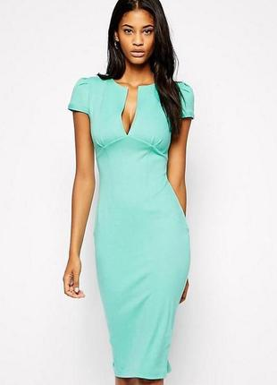 Платье-футляр asos миди в стиле евы лангория