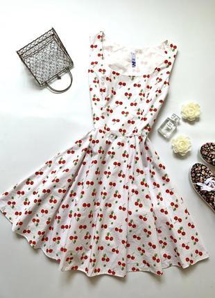 Платье в вишнях henry holland