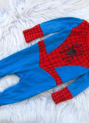 Качественный ромпер комбинезон  человечек george marvel spiderman