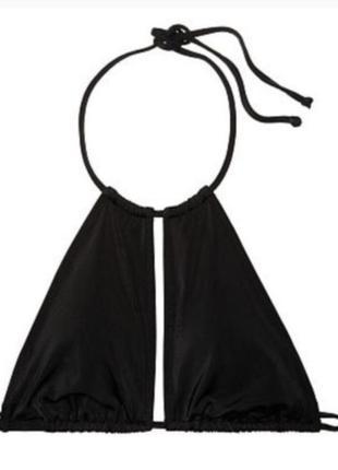 Красивый черный бюстик/лифчик/верх от купальника/купальник pink