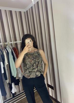 Топ блуза нарядный isabel marant оригинал люрекс