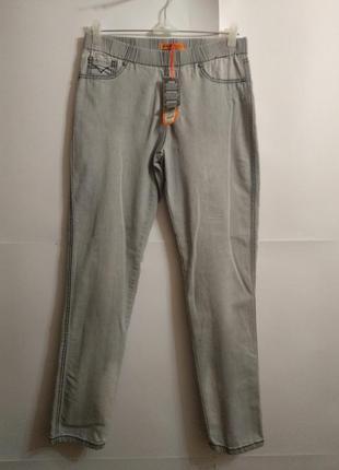 Новые джеггинсы актуальные джинсы высокий рост 14/48-50 размера