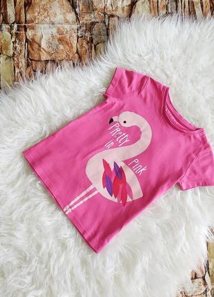 Футболка с фламинго