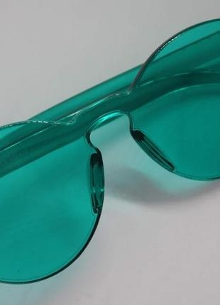 Стильные круглые солнцезащитные очки rtbofy без оправы