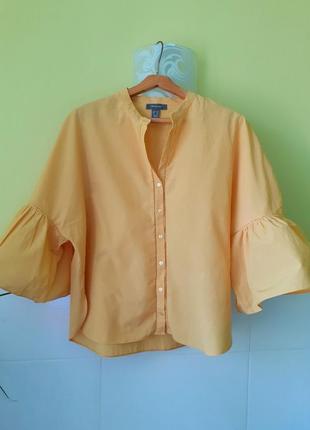 Рубашка с обьемными рукавами от primark