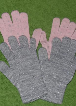 Перчатки h&m 5-6 лет