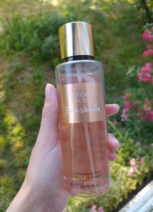 Мист спрей парфюмированый для тела виктория сикрет victoria secret bare vanilla