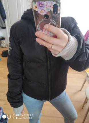 Baon стильная куртка пуховик короткая размер xs\s