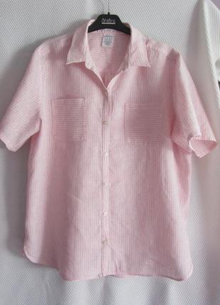 Нежная льняная рубашка