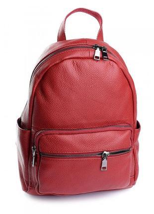 Женский кожаный рюкзак.  жіночий шкіряний портфель
