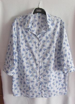 Тоненькая хлопковая рубашка