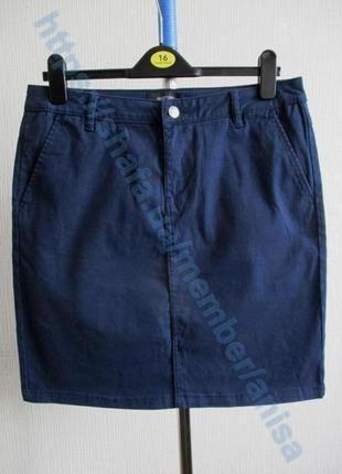 Sale -50%! котоновая юбка-карандаш tcm tchibo